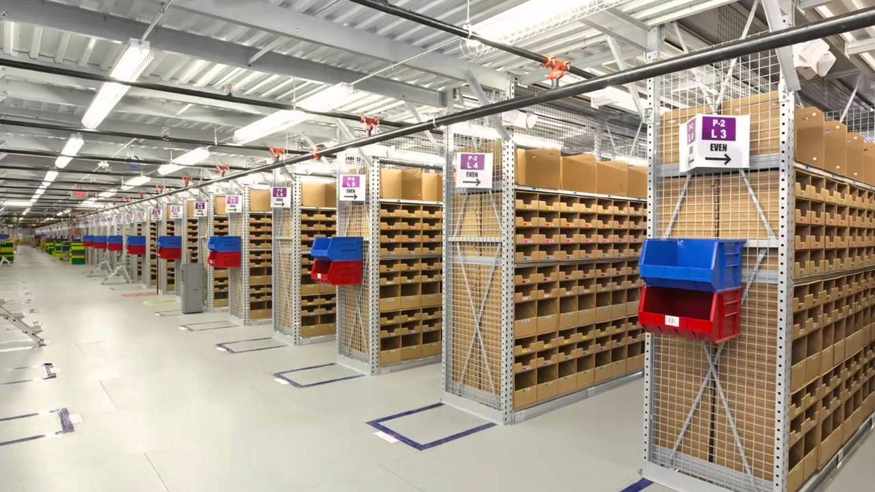 logistica e-shopping